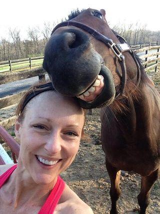 Horseselfie