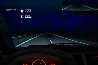 Smart Highway-glowing lines-Studio Roosegaarde